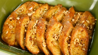 The Chew\'s Honey Nut Cheerios?? French Toast