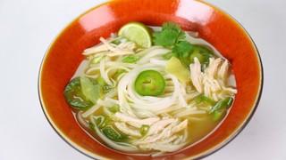 Leftover Thai Chicken Soup
