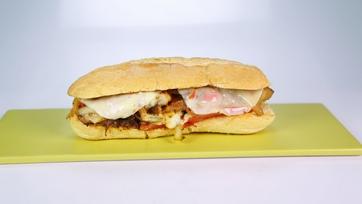 Pork Chop Cheesesteak