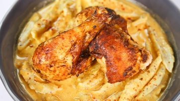 Michael Symon\'s Chicken Paprikash