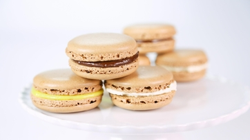 Carla Hall\'s Chocolate French Macarons