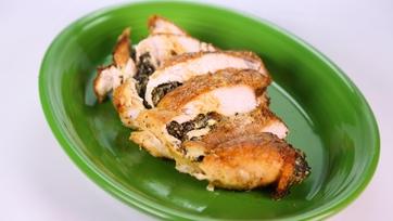 Deena Carter\'s Turkey Breast Stuffed with Creamed Collard Greens