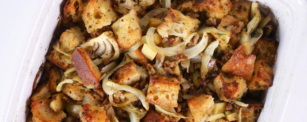 Sausage Ciabatta Stuffing