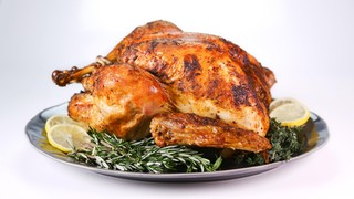 Roasted Turkey with Thyme, Rosemary, Fennel, and Lemon