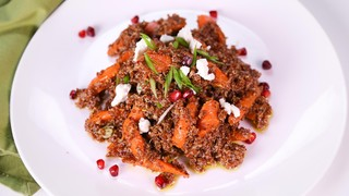 Caramelized Carrots with Quinoa
