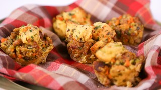 Carla Hall\'s Hidden Valley Stuffing Muffins