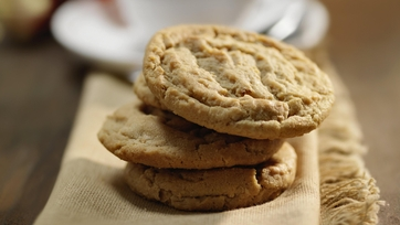 Peanut Butter Cookies by Carla Hall