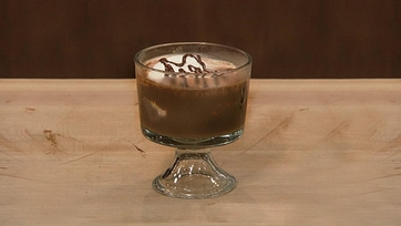 Chocolate Trifle with Brulee Marshmallows by Michael Symon