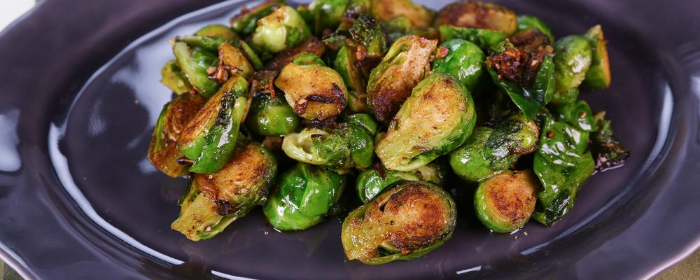 Clinton Kelly\'s Caramelized Brussels Sprouts