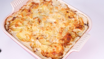 Ina Garten\'s Potato-Fennel Gratin