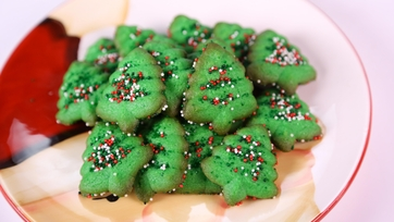 Kelly Meyers\' Holiday Cream Cheese Press Cookies