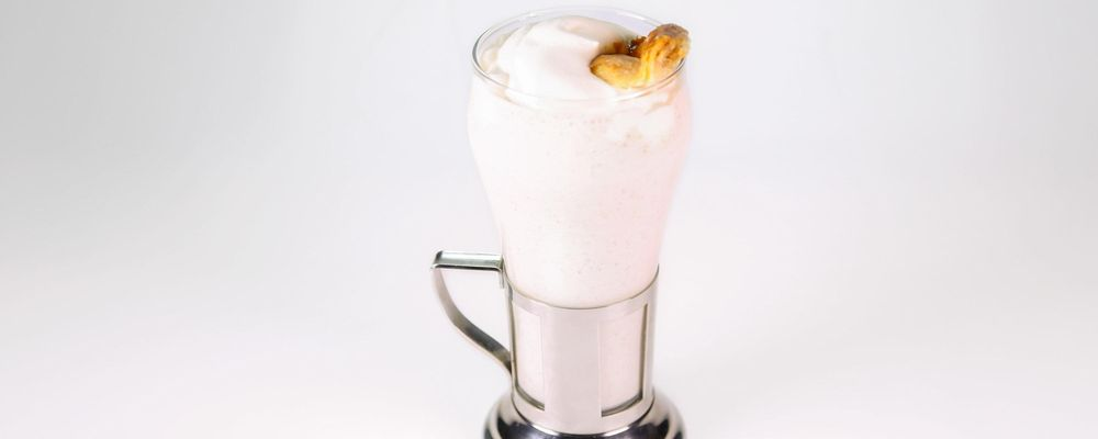 Apple Bourbon Milkshake