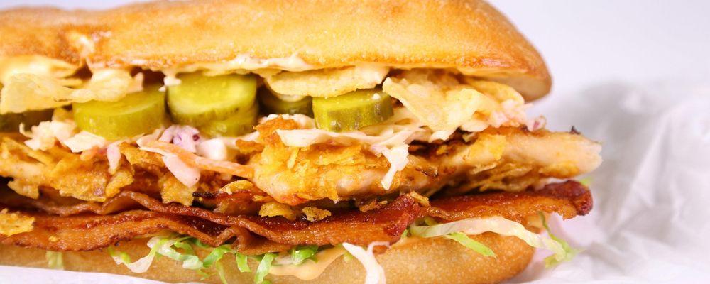 Karissa Cooney\'s Spicy Chicken and Slaw Sandwich