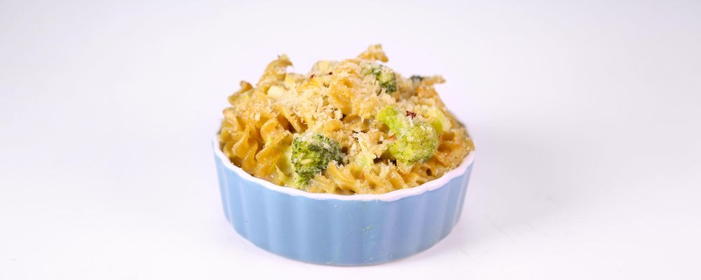 Broccoli & Cheddar Mac & Cheese