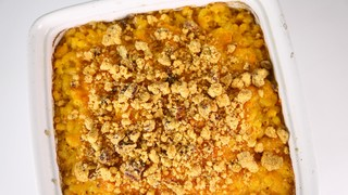 Mac and Cheese with Cheddar Crumble