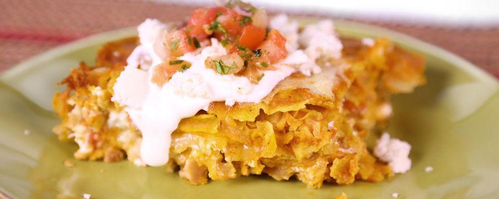 Chicken Enchilada Casserole by Clinton Kelly