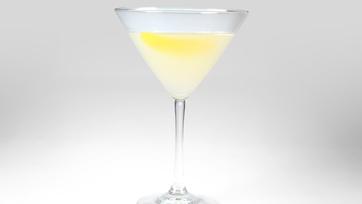 "Just for ""Her"" Martini AKA Lemon Rosemary Martini"