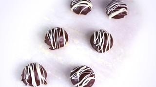 Frozen Chocolate Peanut Butter Bombe