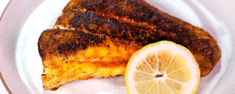 Blackened Red Snapper