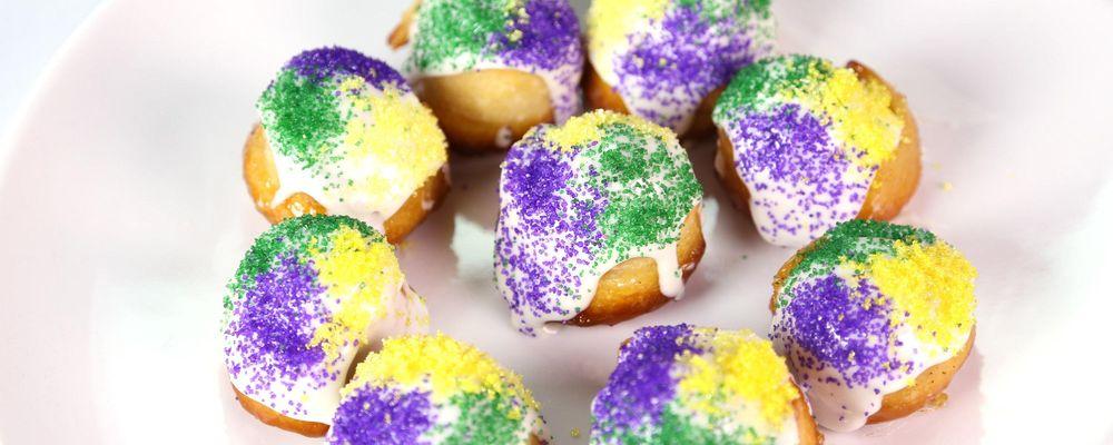 Mini King Cakes