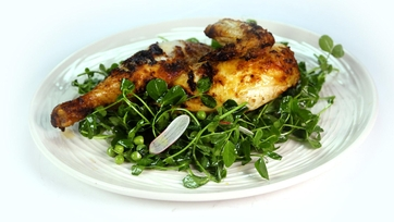 Grilled Chicken with Spring Salad