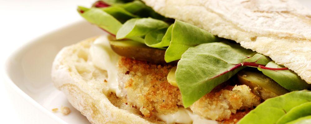 BBQ Chip Schnitzel Sandwich