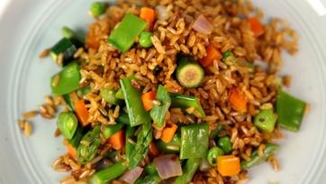 Healthy Vegetarian Reisfleisch