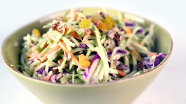 Broccoli & Raisin Slaw