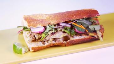 Beef Satay Sandwich