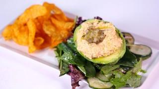 Stuffed Avocado with Tuna Salad