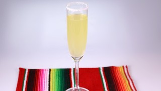 Sparkling Sour Orange Margarita
