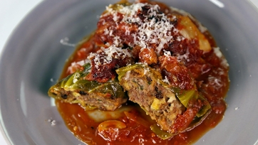Mom\'s Stuffed Cabbage