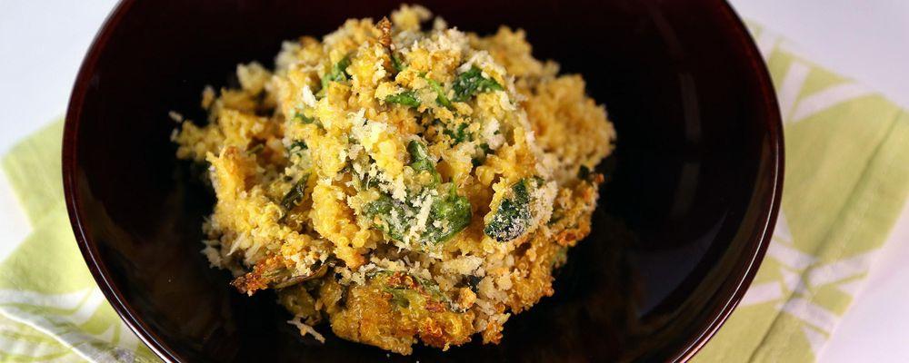 Quinoa & Spinach Un-Mac n\' Cheese