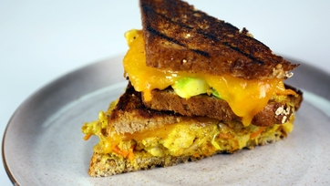 Chicken Curry Salad Melt