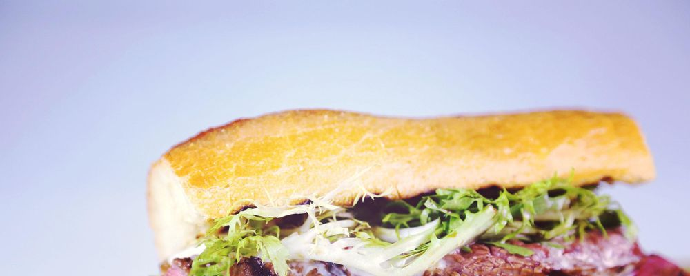 Grilled Steak & Fondue Sandwich