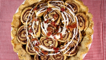 Cinna-Bacon Pie
