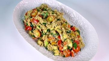 Grilled Vegetable Salad with Citrus Vinaigrette