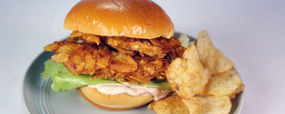 Salt and Vinegar Chicken Sandwich