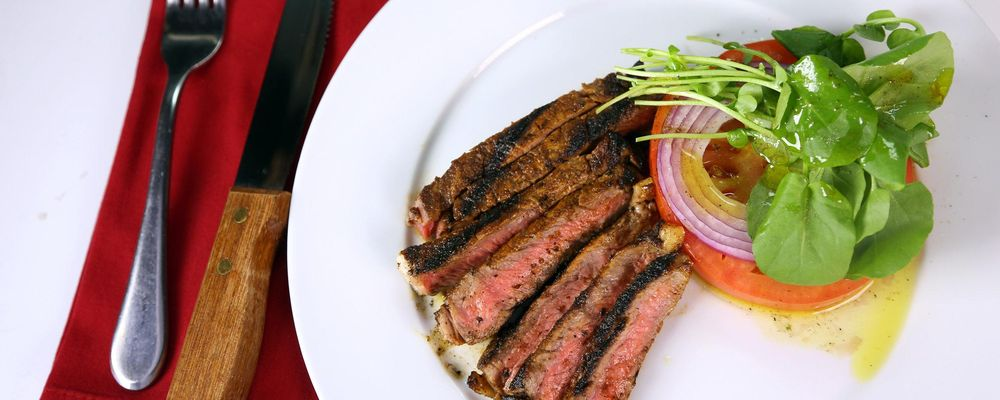 Rib Steak with Adobo Rub