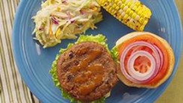 Sweet & Smoky Black Bean Burgers