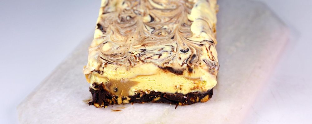 Chocolate Peanut Butter Semifreddo