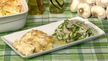 Asparagus and Spring Onion Salad