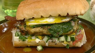 Tabouleh Chicken Sandwich
