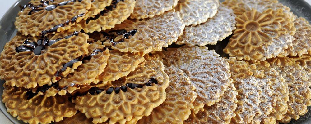Thin Waffle Cookies