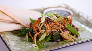 Moo Shu Chicken and Vegetables