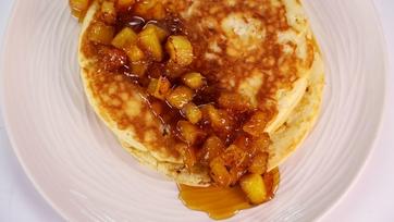 Pina Colada Pancakes