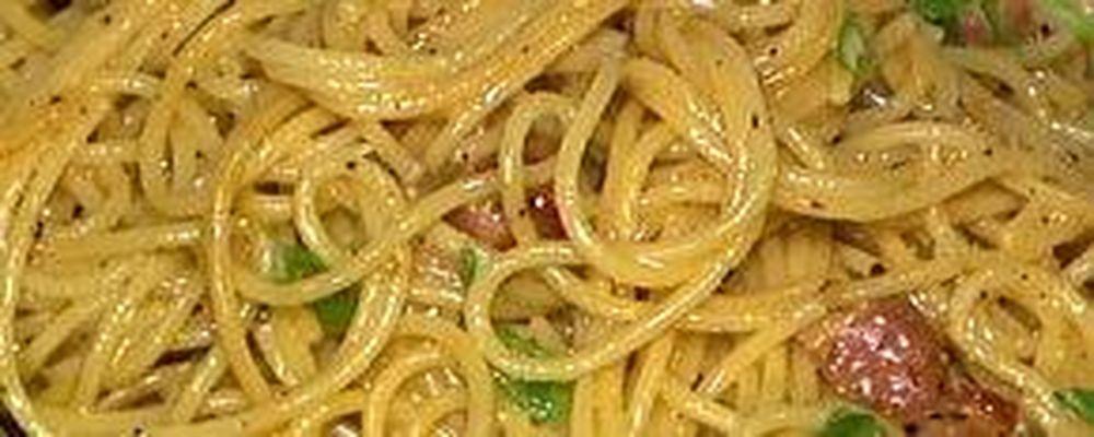 Mario Batali\'s Spaghetti alla Carbonara