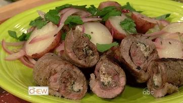 Beef Braciole With Potato Salad