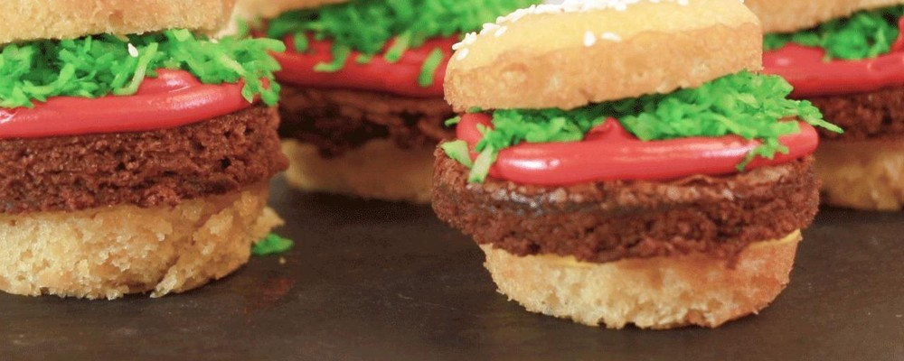 Easy Chew Recipes: Dessert Burger