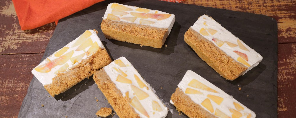 New Recipe: Clinton Kelly\'s Peaches and Cream No-Bake Cheesecake